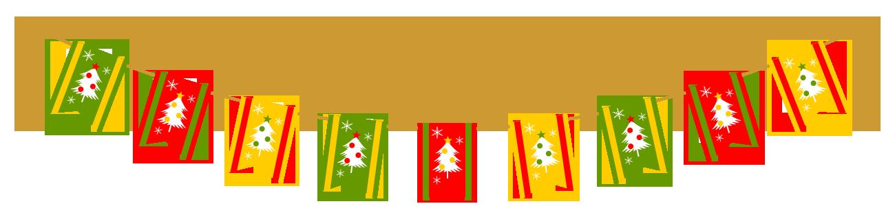 「クリスマス ガーランド フリー素材」の画像検索結果